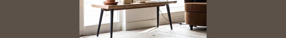 Material Details Alagon Bench 180 centimeters