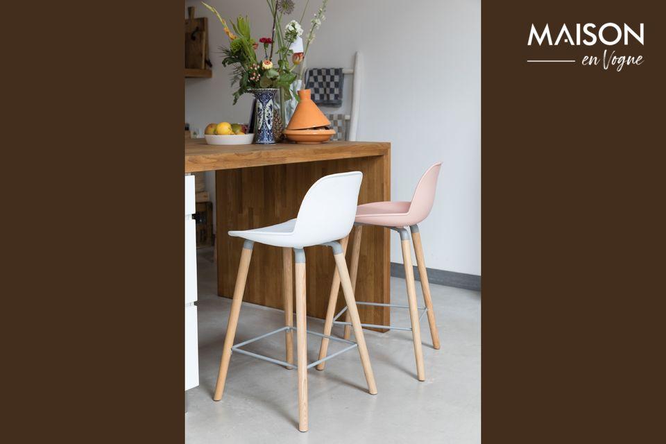 albert kuip white Counter stool Zuiver