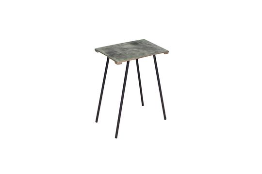 Aleyrac Small aluminium side table