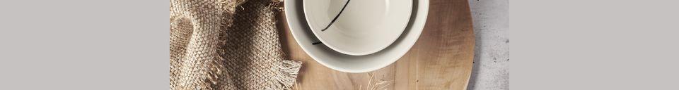Material Details Algarve Teak Round Plate
