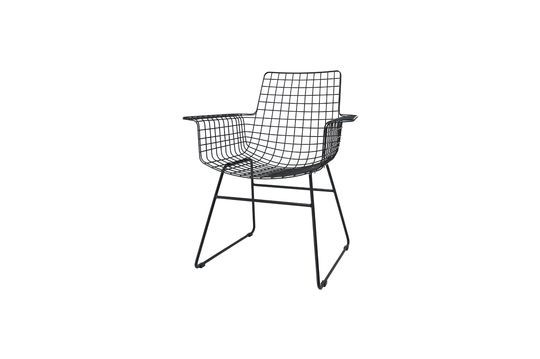 Altorf black wire with armrests