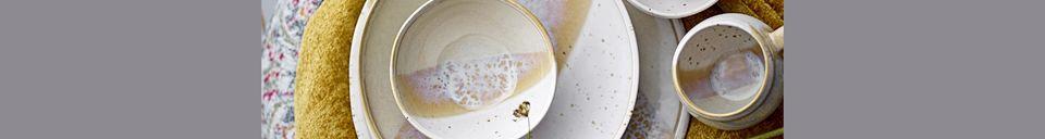 Material Details April bowl 11 centimeters