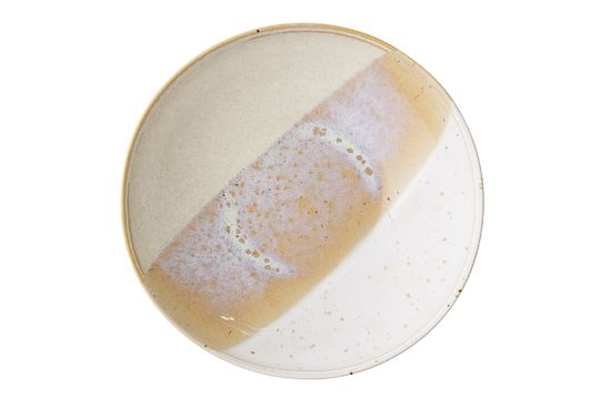April stoneware bowl