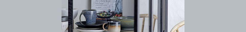 Material Details Aura porcelain cup