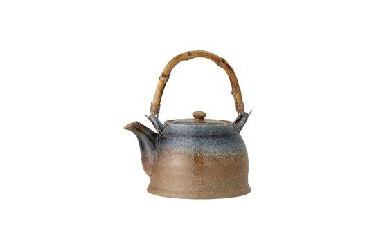 Aura porcelain teapot Clipped