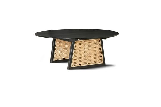 Aussos wicker coffee table Clipped