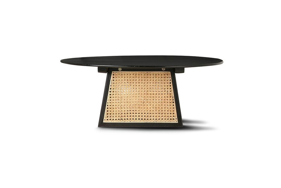 Rattan is as retro as ever, especially when it is worked with art