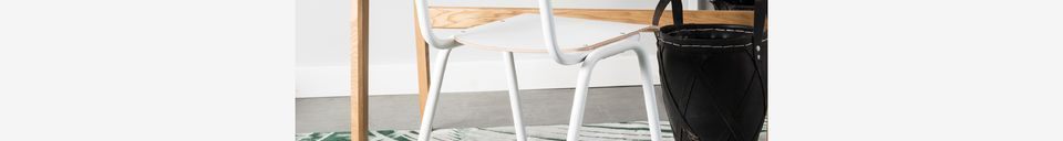 Material Details Back To School Chair White