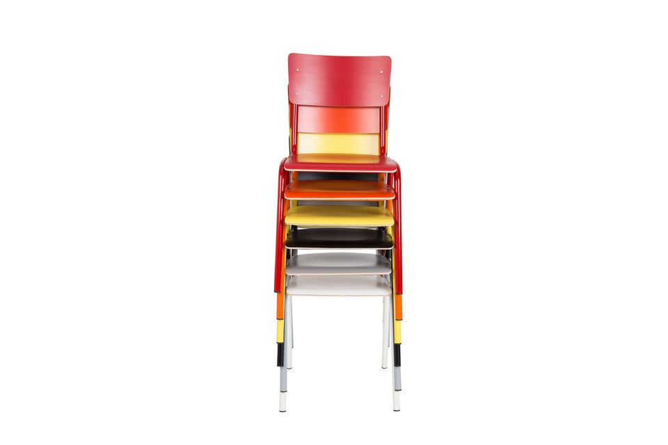 Back To School Chair Yellow - 4
