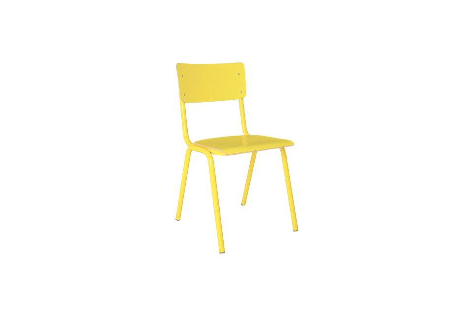 Back To School Chair Yellow Zuiver