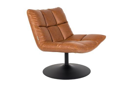 bar Brown vintage lounge chair