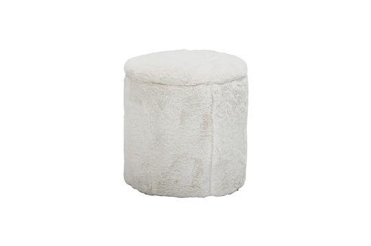 Barthe White pouf