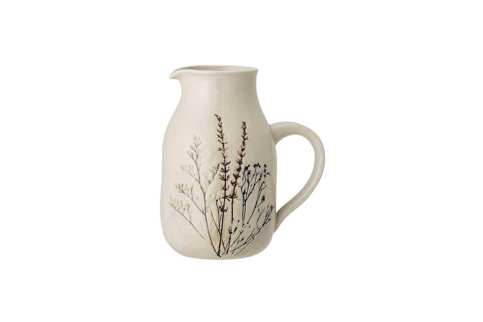 Bea Stoneware pitcher Bloomingville
