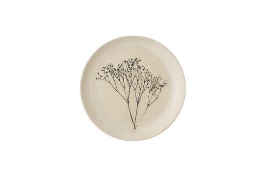 Bea stoneware plate Clipped