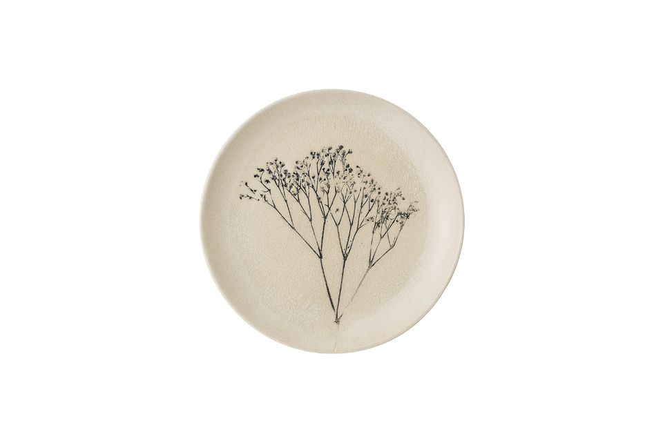 Bea stoneware plate Bloomingville