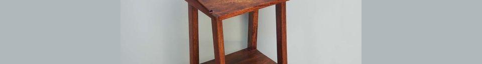 Material Details Becket bedside table