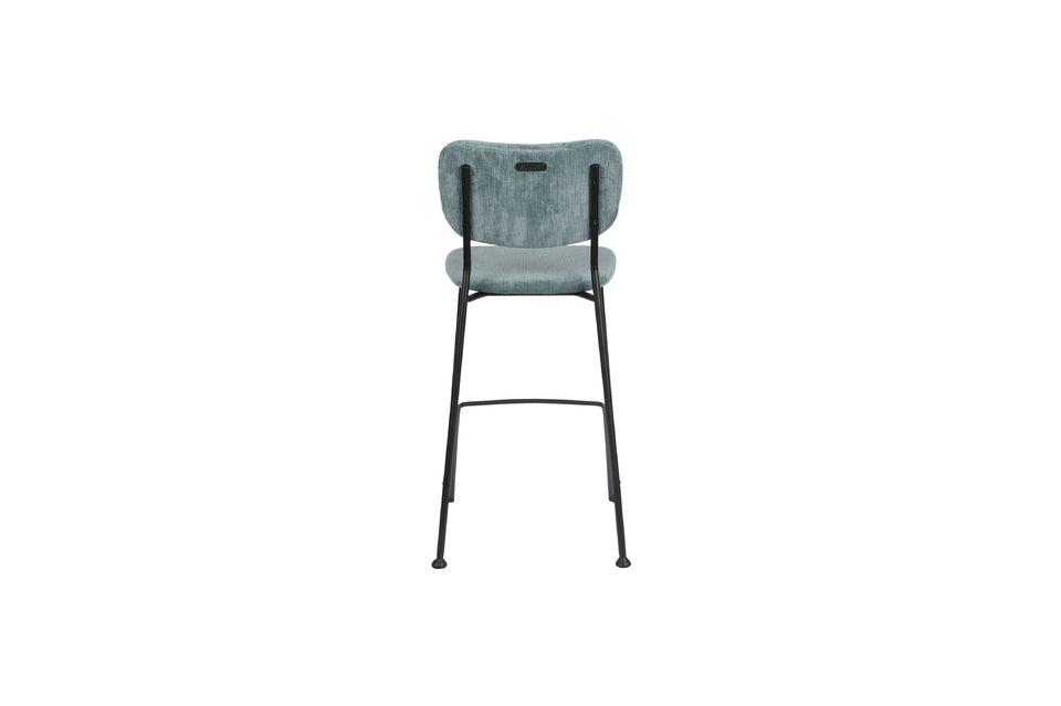 Benson Counter Stool Grey Blue - 6