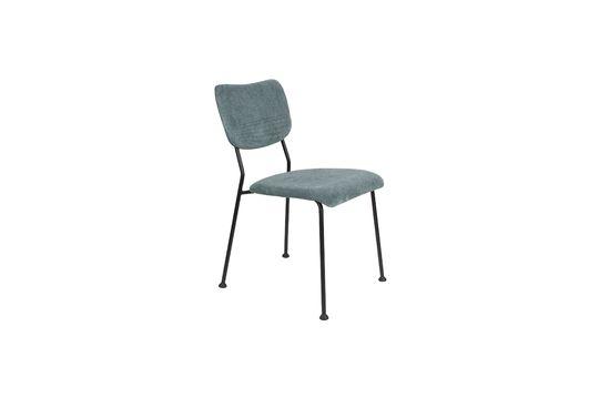 bensongrey-blue chair