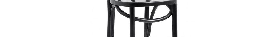 Material Details Bistro Wooden bar stool