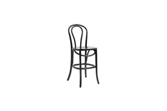Bistro Wooden bar stool Clipped