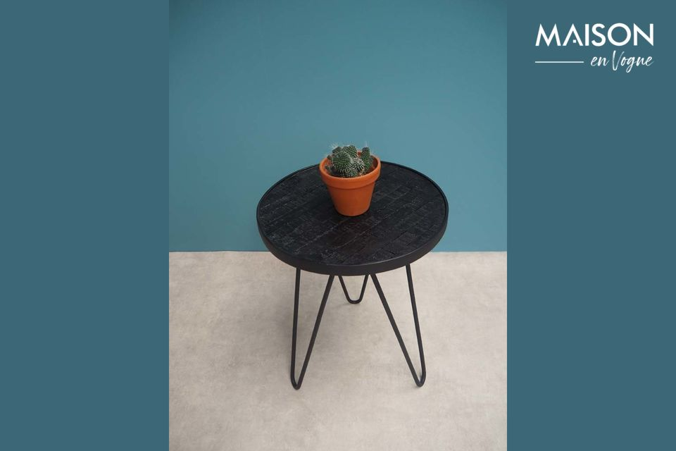 Black Market Side Table