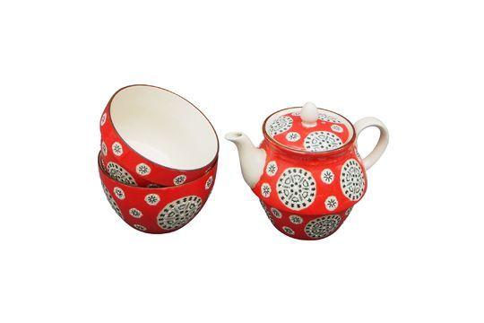 Bohemian Red Teapot