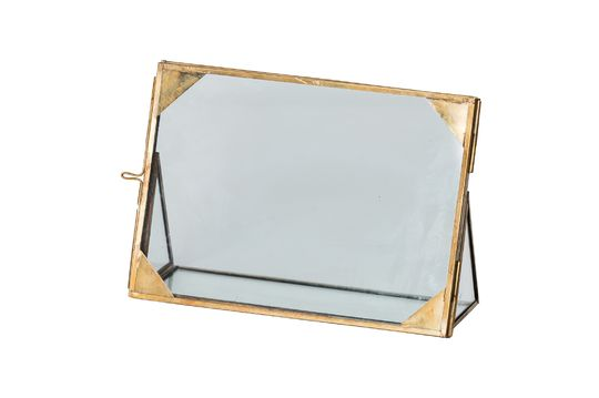 Brass corner frame Jars