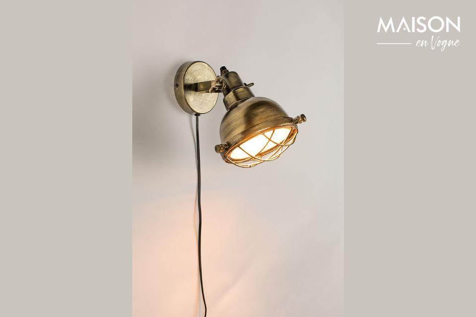 Brass Evan Wall Lamp