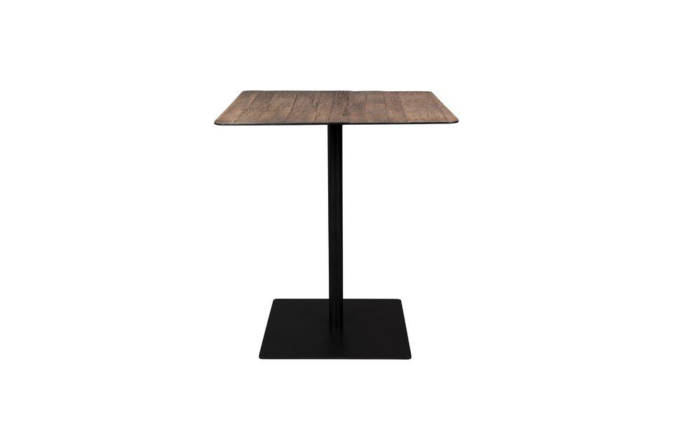Braza counter table square brown colour Dutch Bone