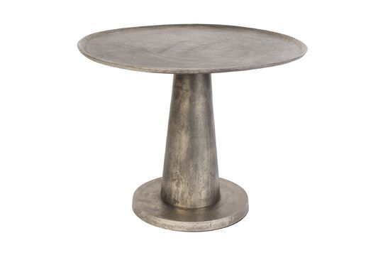 Brute nickel Side Table Clipped
