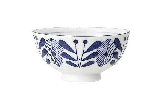 Camélia Blue Bowl Clipped