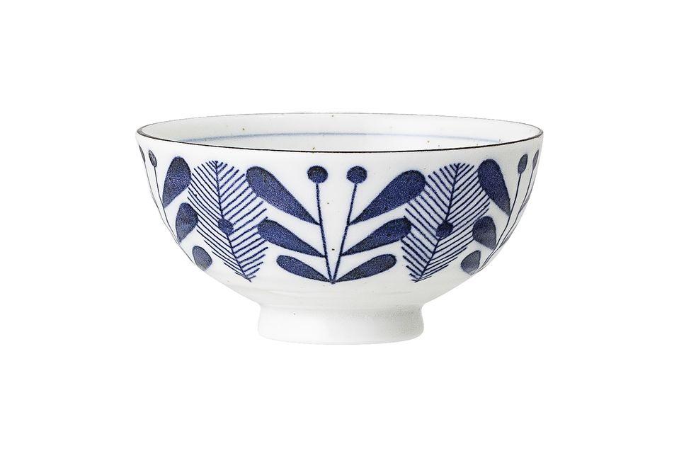 Camélia Blue Bowl Bloomingville
