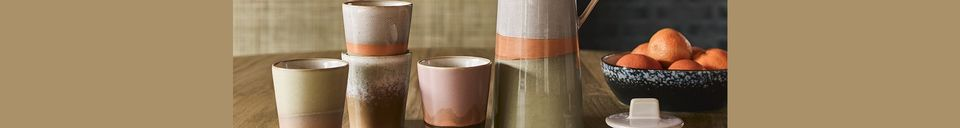 Material Details Ceramic coffee maker 70's