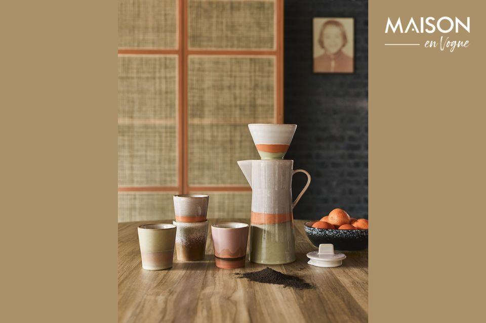 Ceramic coffee maker 70's