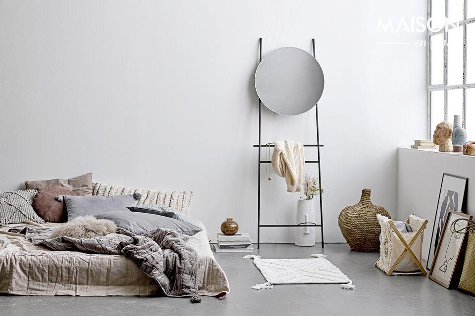 César mirror with shelf Bloomingville