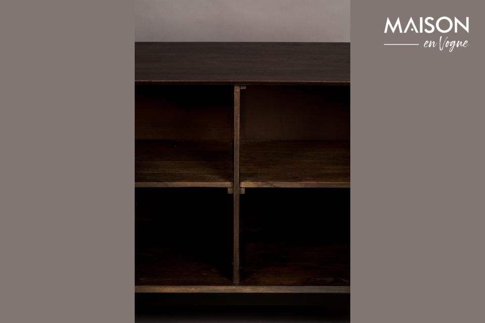 The furniture is made of mango wood which gives it a very natural look
