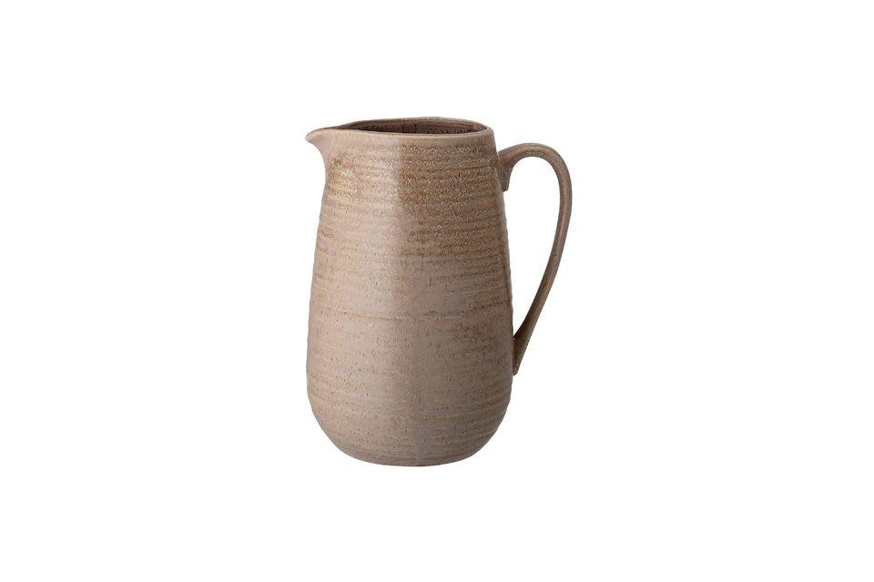 Chuisnes Stoneware pitcher Bloomingville