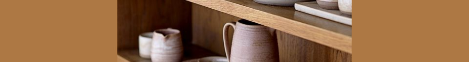 Material Details Chuisnes Stoneware pitcher