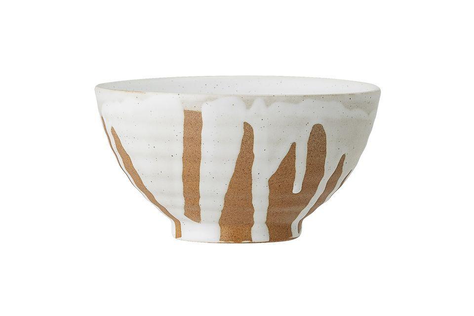 Clamélia White Sandstone Bowl Bloomingville