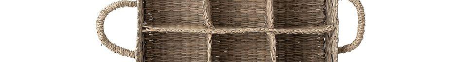 Material Details Collias basket in sea rush