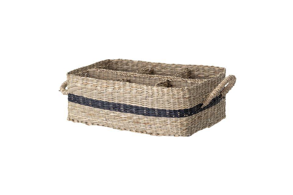 Collias basket in sea rush Bloomingville