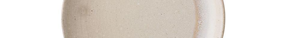 Material Details Columbine stoneware plate