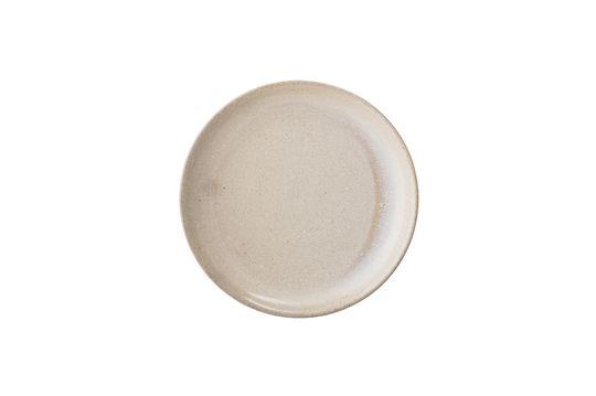 Columbine stoneware plate Clipped