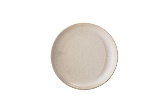 Columbine stoneware plate