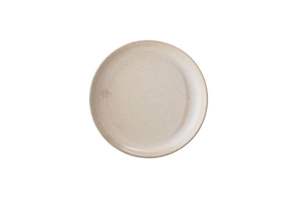 Columbine stoneware plate Bloomingville