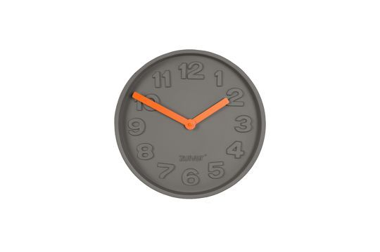 Concrete Time Clock orange