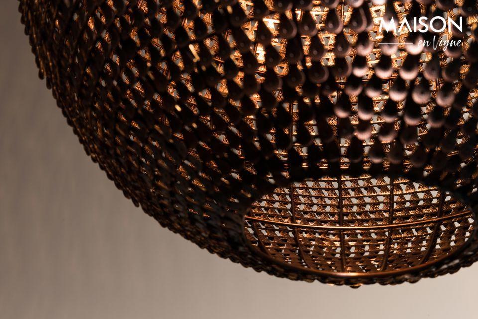 Cooper Round Hanging lamp 40 centimeters - 10