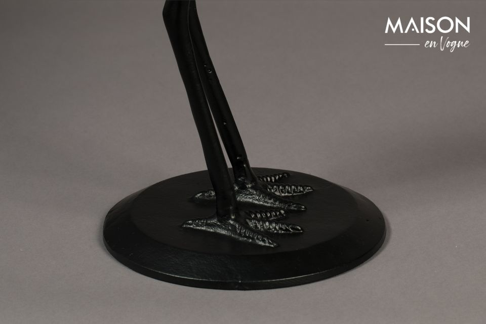 Dutchbone brings a mystical touch to your interior thanks to this Crane black side table with a