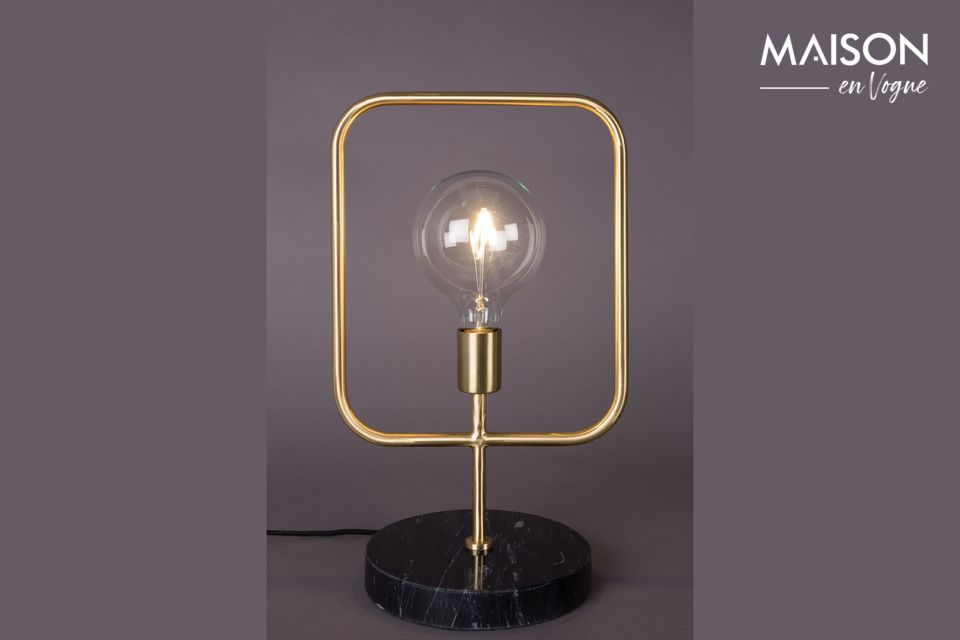 Cubo table lamp Dutch Bone