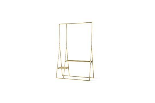 Cusance brass clothes rack Clipped